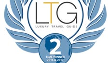 THREE TIME WINNER OF LUXURY TRAVEL GUIDES TOUR OPERATOR OF THE YEAR - ORLANDO, FLA